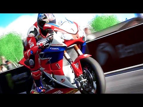 TT ISLE OF MAN Bande Annonce (2018) PS4 / Xbox One / PC