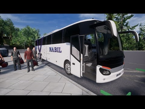 Fernbus Simulator: Austria and Switzerland DLC Germany to Switzerland (Nabil Multiaxle Coach)
