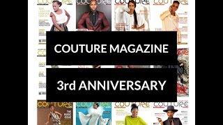 COUTURE Magazine 3rd Anniversary