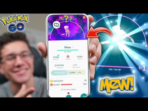 MAXING OUT MEW in Pokémon Go! How Much CP Can Mew Get?