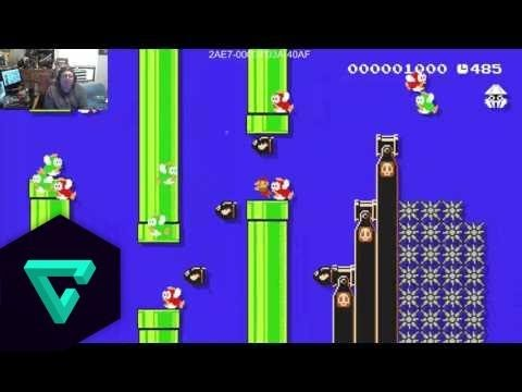 Squishy Duck Super Mario Maker 4 : Super Mario Maker - The YouTube Flappy Duck Challenge Entry - YouTube