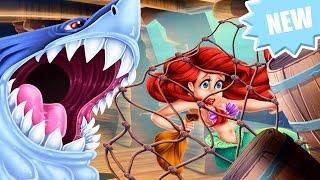 Disney Prenses Karikatür Prenses Ariel Kaza yaralanma - Bebek Video Oyunları