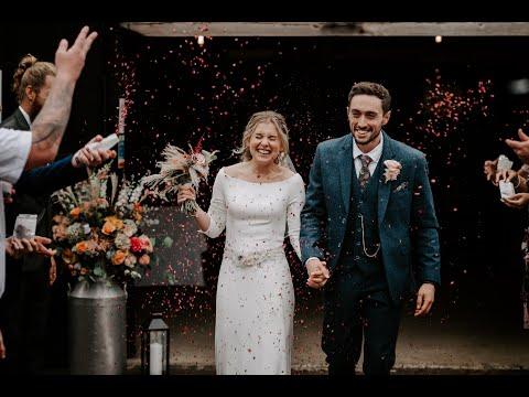 Stefan & Emily Micro-Wedding Video | Gildings Barn | Surrey