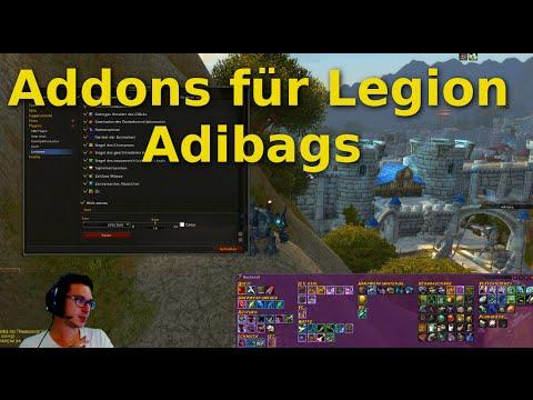 Legion Addons: Adibags Das Taschen Addon