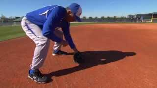infield drills fielding a ground ball infield play by the img academy baseball program 5 of 6