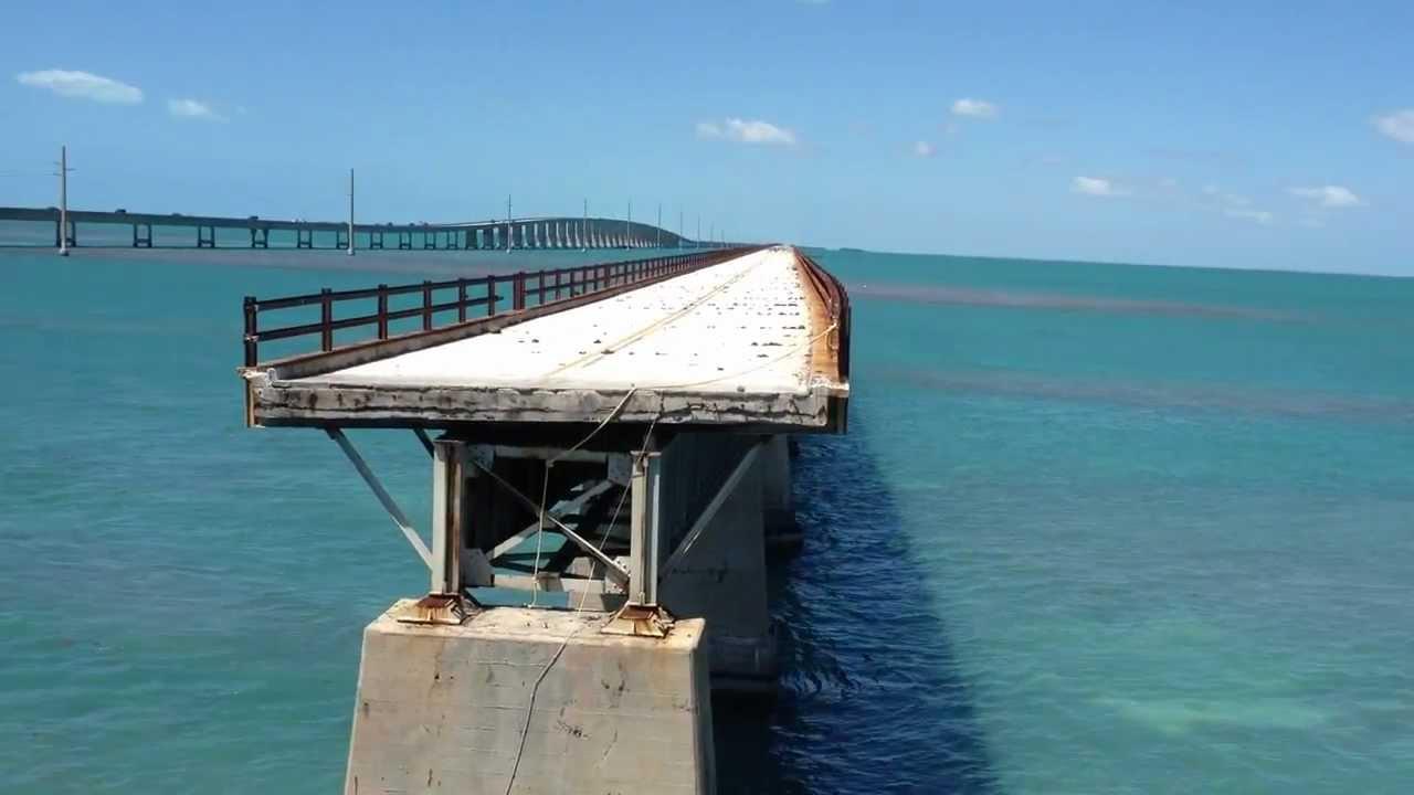 The Old 7 Mile Bridge Florida Keys Youtube