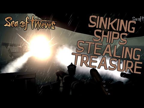 Multiplayer PVP Sinking Ships And Stealing Treasure! Sea Of Thieves Closed Beta PC And Xbox One!
