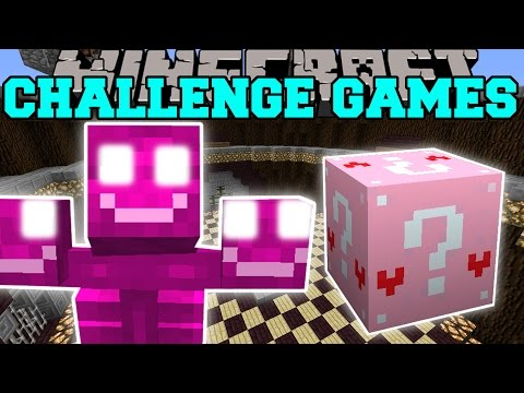Minecraft: PINK WITHER CHALLENGE GAMES - Lucky Block Mod - Modded Mini-Game