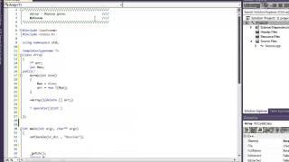 уроки по с++. 25 урок. Виртуальный деструктор, абстрактный класс,Шаблоны
