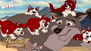 Balto II Wolf Quest Maurice LaMarche, Jodi Benson - Puppies OFFICIAL HD VIDEO
