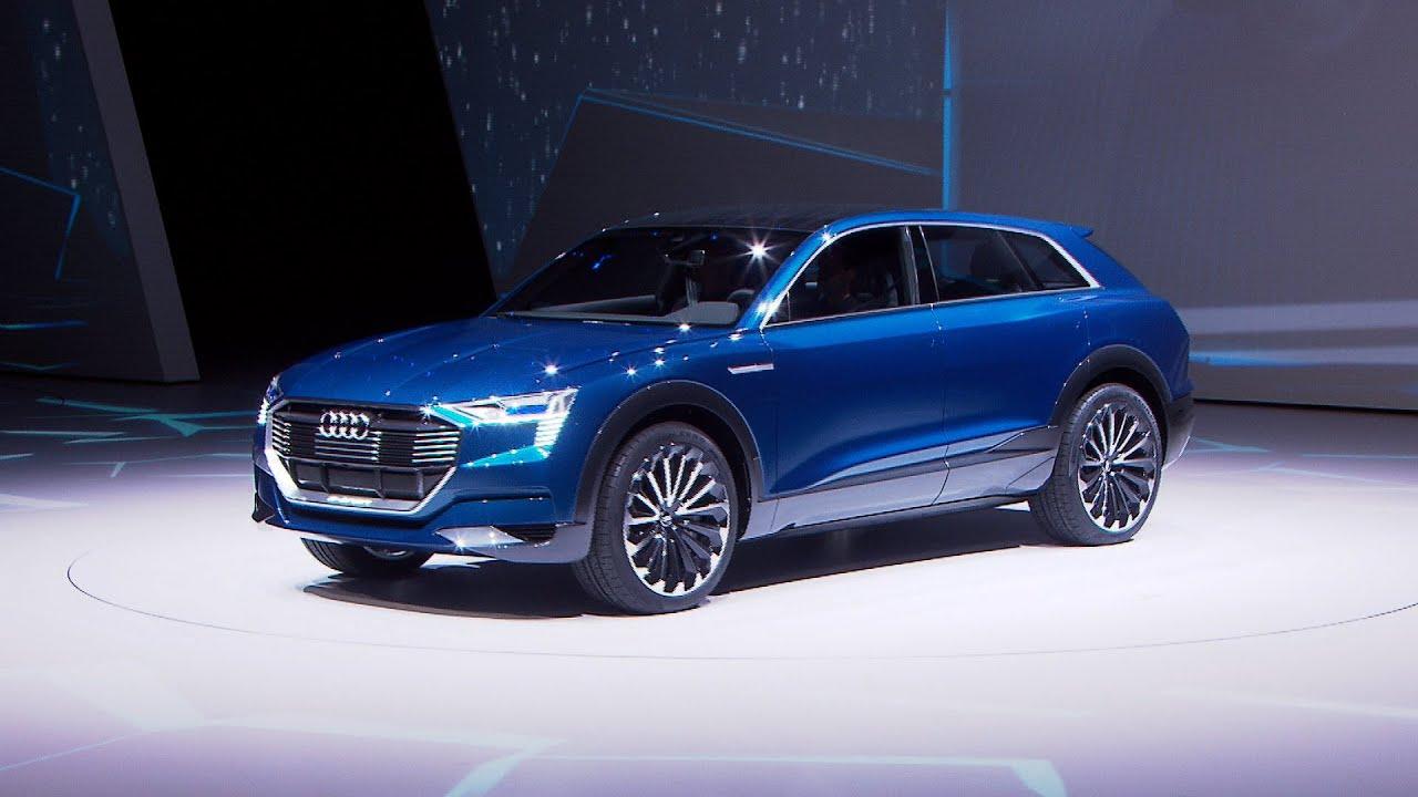 Audi Q6 e-tron (IAA 2015) - Sitzprobe und Interview mit ...
