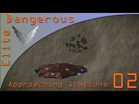 Approaching Stations & Planets - Elite Dangerous on PS4 & Xbox One Ep2