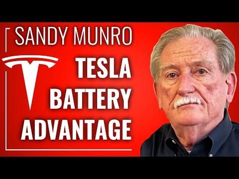 SANDY MUNRO On Tesla's Battery Tech Domination