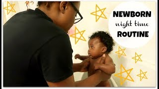 REALISTIC NEWBORN NIGHT TIME ROUTINE!!!