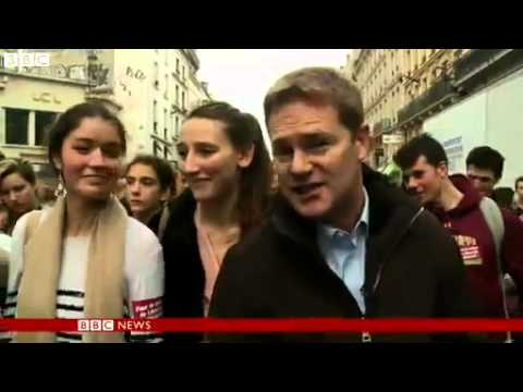 BBC News   French students protest Roma girl s deportation to Kosovo