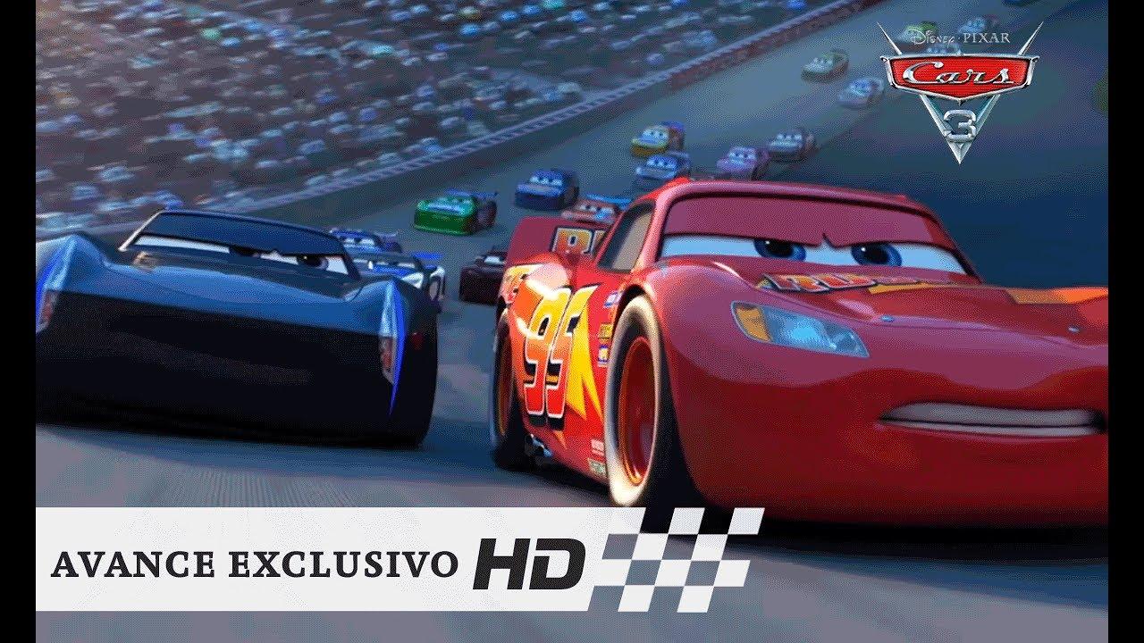 cars 3 de disney pixar avance exclusivo hd youtube. Black Bedroom Furniture Sets. Home Design Ideas
