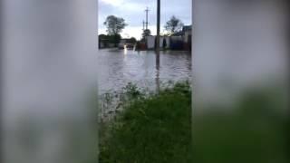 Наводнение в станице Суворовской, Ставропольский край 28.05.2017