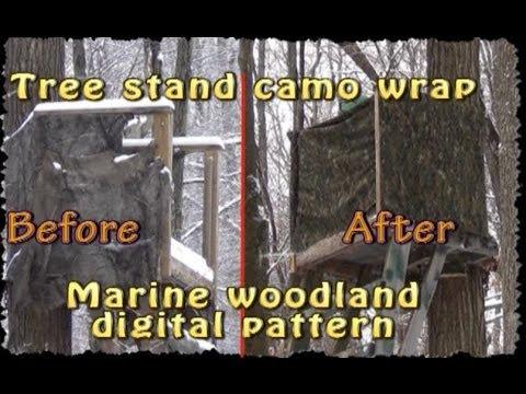 Deer Stand Camo Wrap Youtube