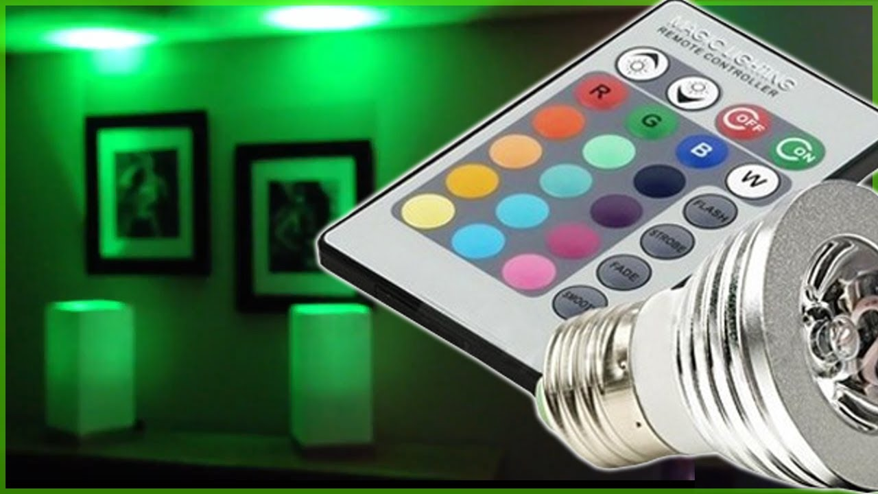 Remote Led Light Bulb