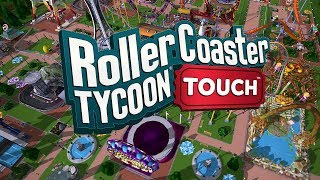 Roller Coaster Tycoon Touch - Part 1 Opening of TouchGamePlay