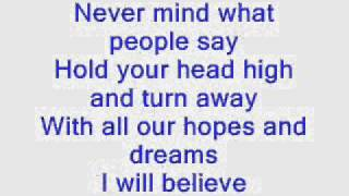 Yolanda Adams   I Believe  Lyrics