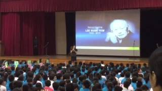 Remembering LKY: Principal's address at Telok Kurau Primary School