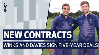 HARRY WINKS AND BEN DAVIES SIGN NEW FIVE-YEAR CONTRACTS