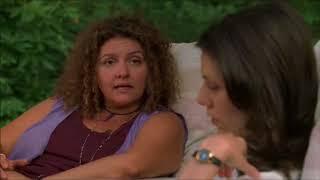 Barbara and Janice Soprano chit chat