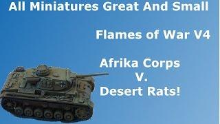 Flames of War V4 - Batrep #6 Mid War - German V. British