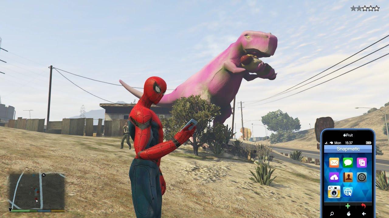GTA 5 Spider Man 2 Mod – Người Nhện 2 xuất hiện trong GTA 5