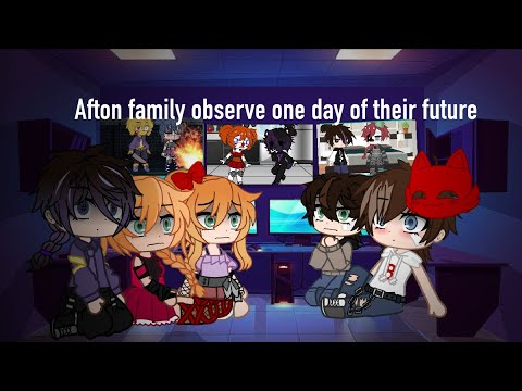 Afton family observe on day of their future (rushed, ships, really bad)