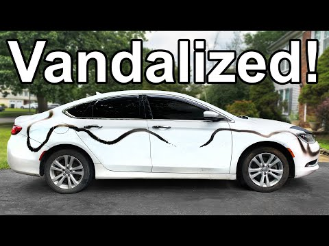 How to Remove Spray Paint from a VANDALIZED Car