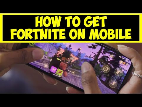 How To Sign Up For Fornite Mobile | Fortnite Mobile Sign Up