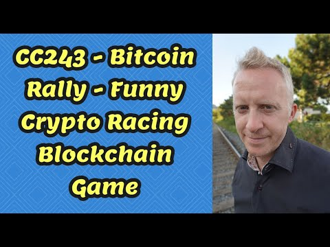 CC243 - Bitcoin Rally - Funny Crypto Racing Blockchain Game