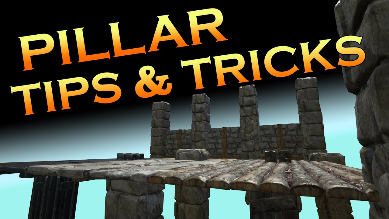 Ark building with pillars tips tricks youtube for Construction tips and tricks