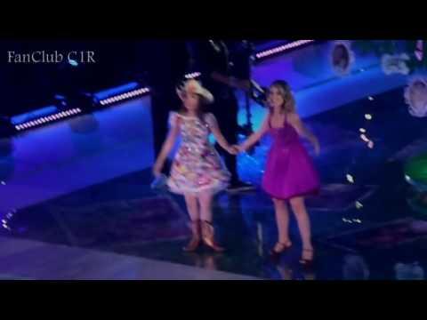 Show C1R em SP - Sempre Contigo- Lari e Juliana Baroni