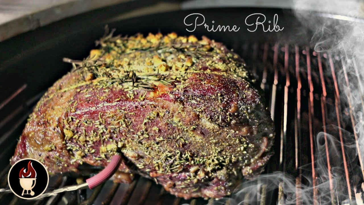 Prime rib on the weber charcoal grill how to grill prime - Weber prim ad ...