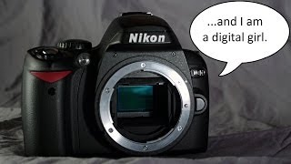 Introduction to the Nikon D40, Video 3 of 12 (Diopter Adjustment)