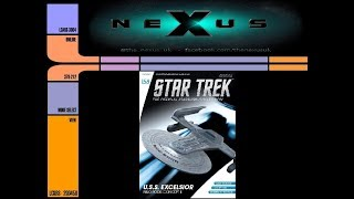 Star Trek Starships Collection USS Excelsior Nilo Rodis Concept II 158 Review