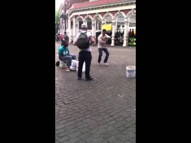 Saturday Market Portland, OR Breakdancing