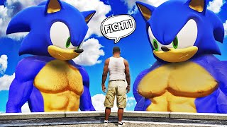 BUFF SONIC vs EXTREME BUFF SONIC in GTA 5 (Super Powers)
