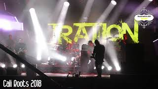 Iration live at Cali Roots 2018