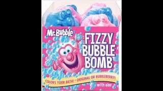 Bubble bath fizzy cupcake