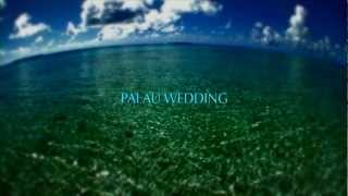 White Beach Wedding / ホワイト・ビーチウエディング   パラオ パシフィック リゾート