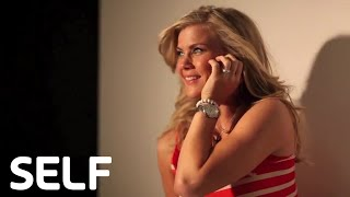 Alison Sweeney Photo Shoot - Behind the Scenes of SELF's Cover Shoots!