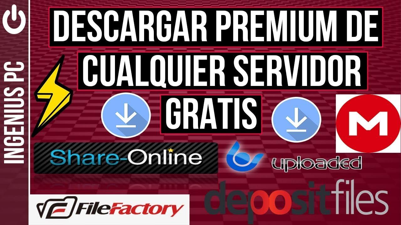 Descargar Premium de Cualquier Servidor Gratis 2018 - YouTube