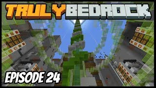 Multi Item Sorter And Helping Foxy! - Truly Bedrock (Minecraft Survival Let's Play) Episode 24