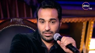 بالفيديو: أحمد فهمي يقلد حسين فهمي وأحمد السقا على الهواء