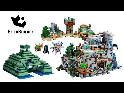 All Lego Minecraft Summer 2017 Compilation – Lego Speed Build for Collectors