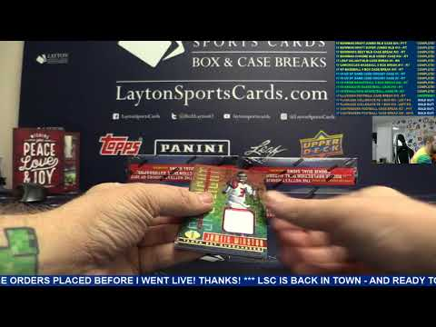 2017 Panini Illusions Football Hobby 8 Box Case Break #18 – RANDOM TEAMS